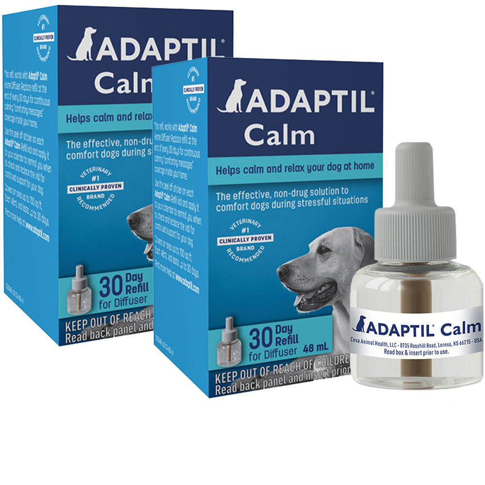Image of 2-PACK ADAPTIL Calm Home Diffuser Refill for Dogs (96mL)