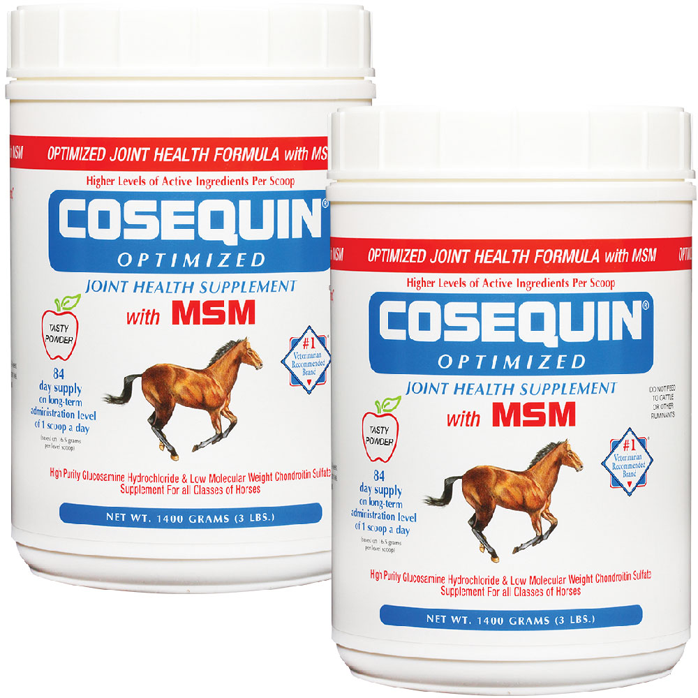 Cosequin Equine Optimized with MSM 2-Pack (2800 gm) im test