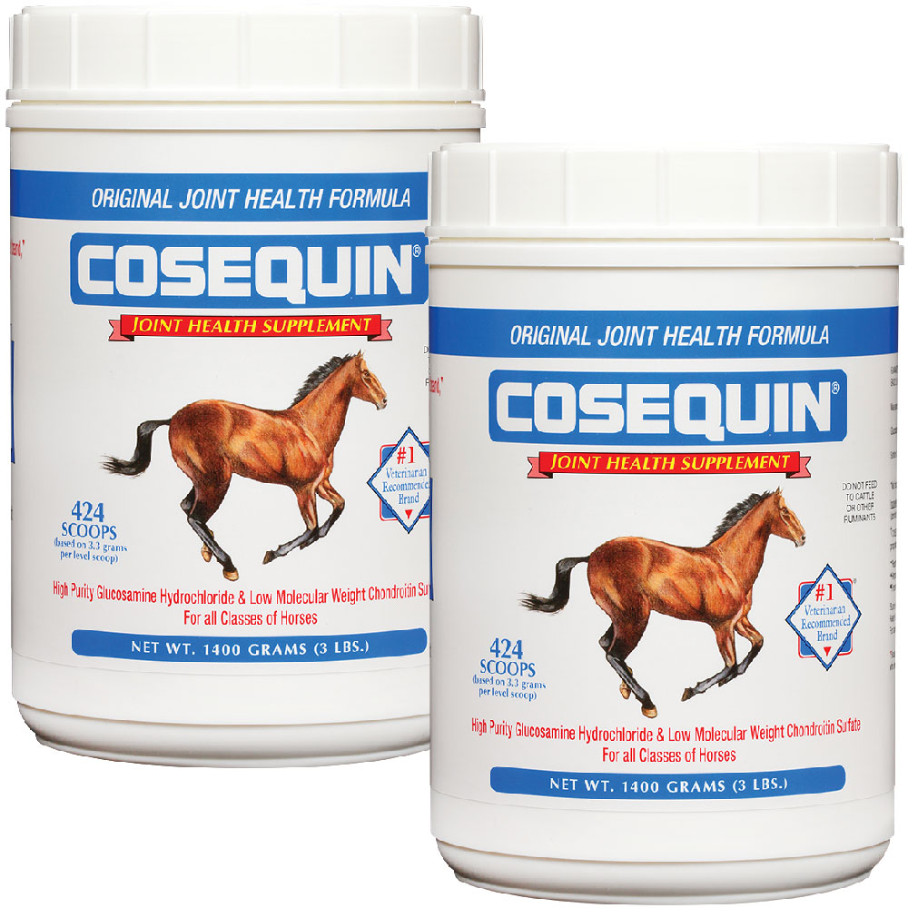 Cosequin Equine Powder Concentrate 2-Pack (2800 gm) im test