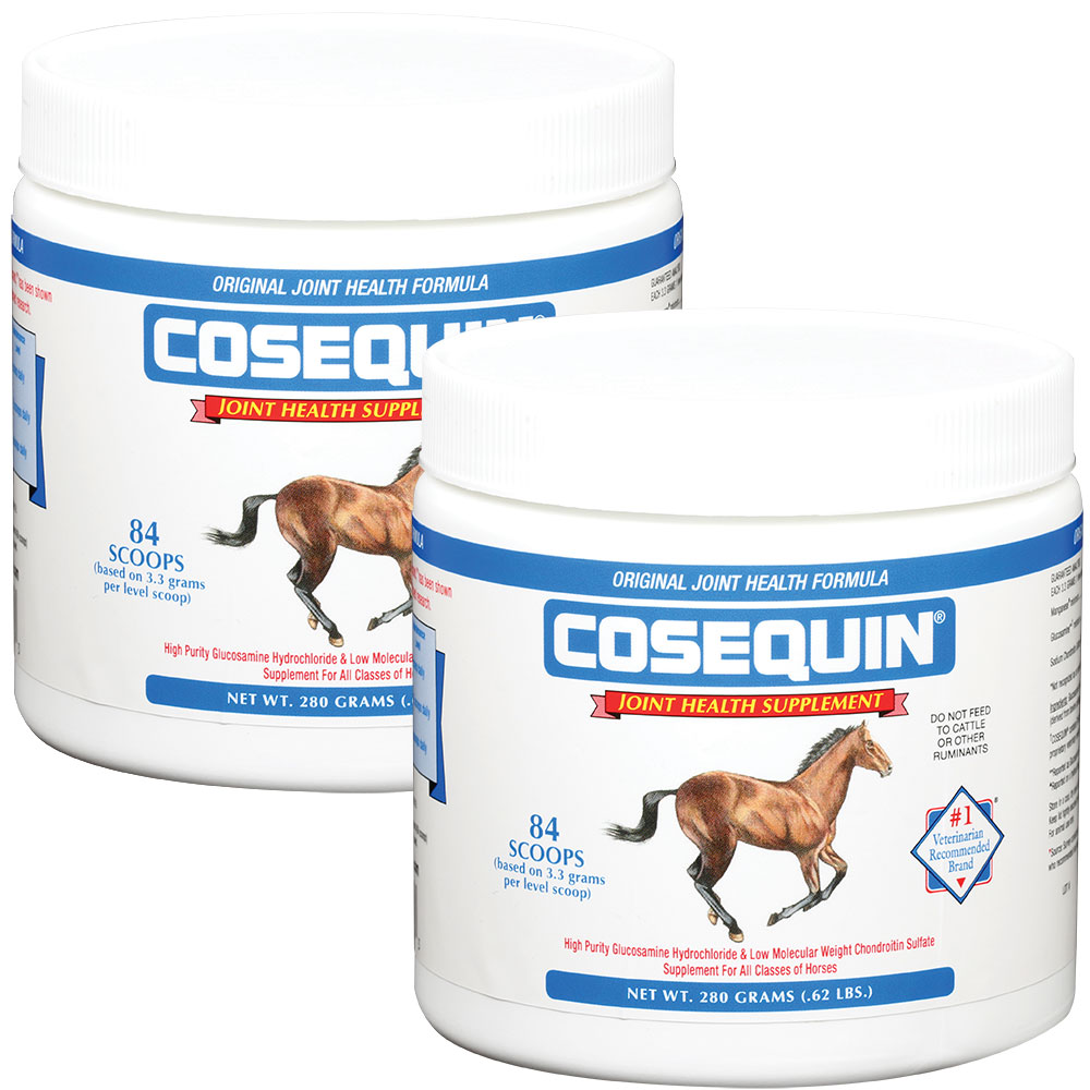 Cosequin Equine Powder Concentrate 2-Pack (560 gm)