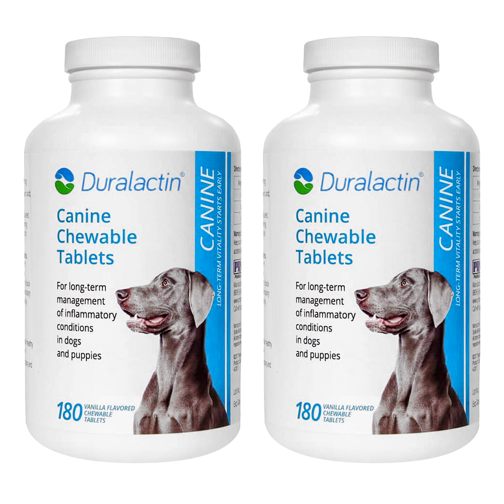 2-PACK Duralactin Canine 1000 mg (360 Tablets) im test