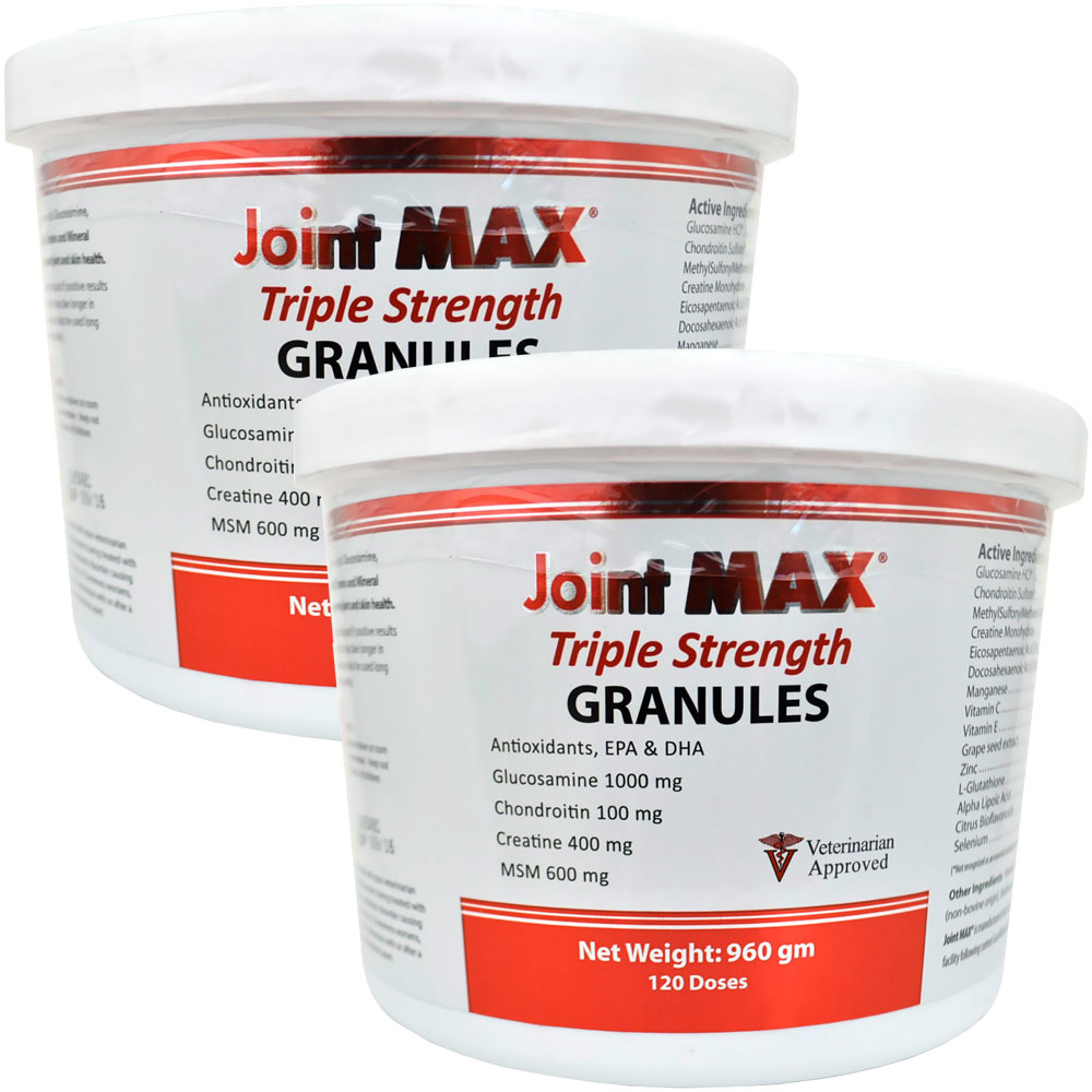 Image of 2-PACK Joint MAX Triple Strength Granules (240 Doses)