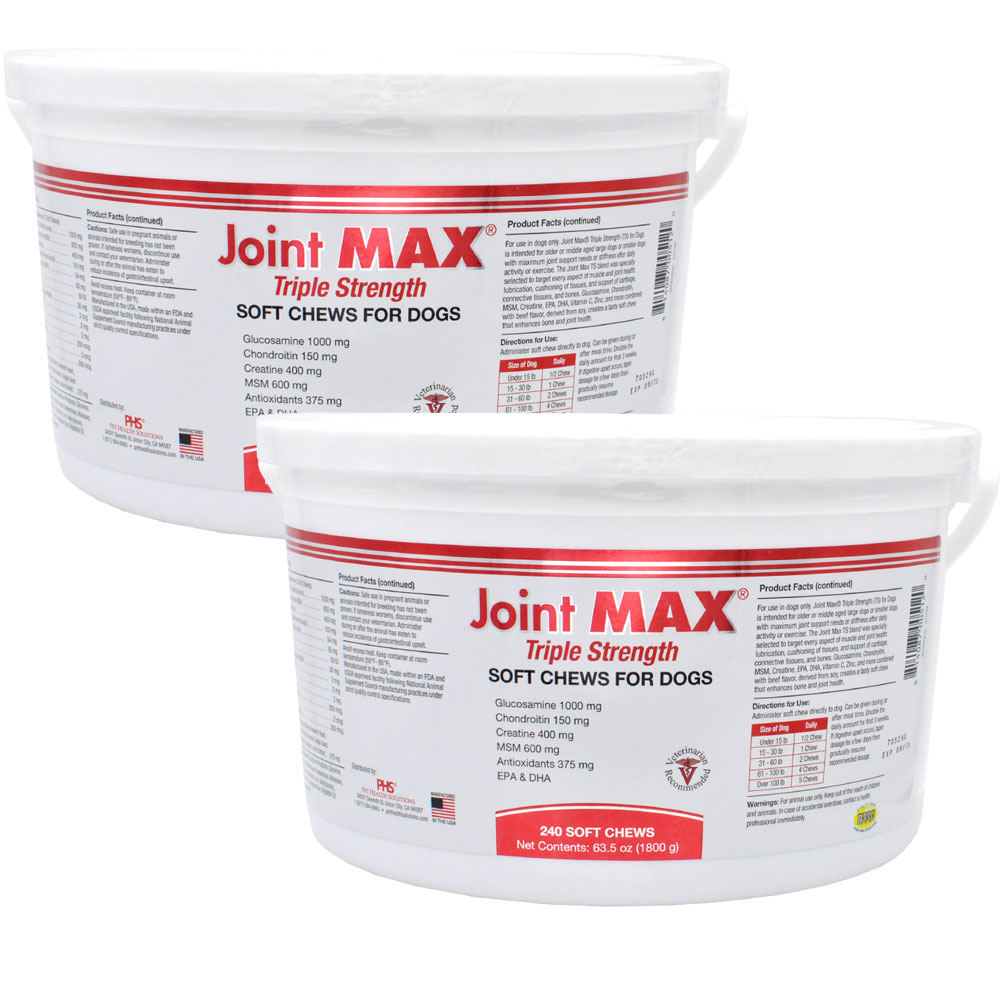 Image of 2-PACK Joint MAX Triple Strength Soft Chews (480 Chews)