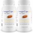 2-PACK Omega-Caps HP snip tips for Cats & Smaller Dogs (500 Capsules)