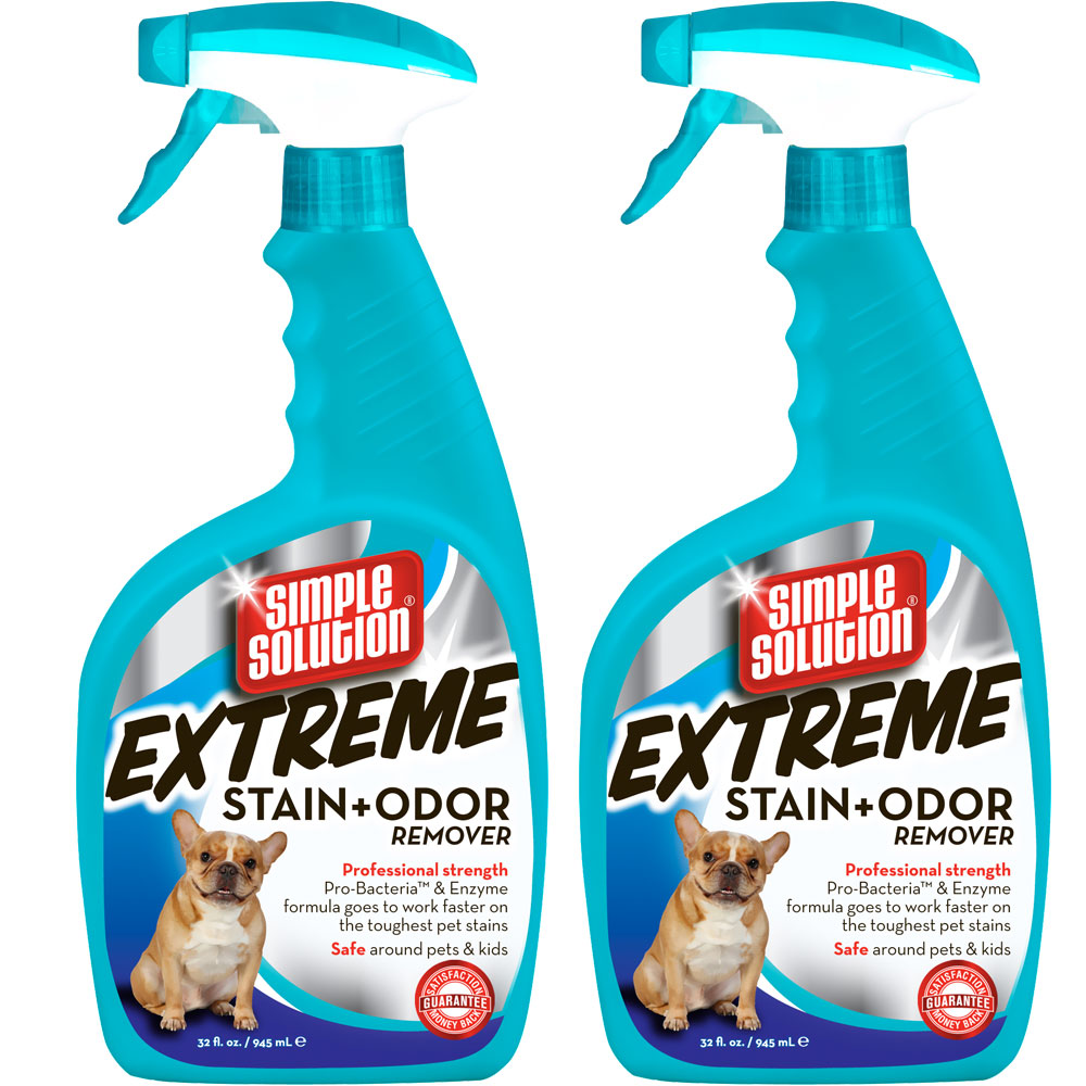 Simple Solution Extreme Stain & Odor Remover Spray (64 fl oz) - 2 pack im test