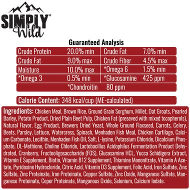 SIMPLY-WILD-LEAN-DOG-CHICKEN-BROWN-RICE-DOG-FOOD-40-LBS