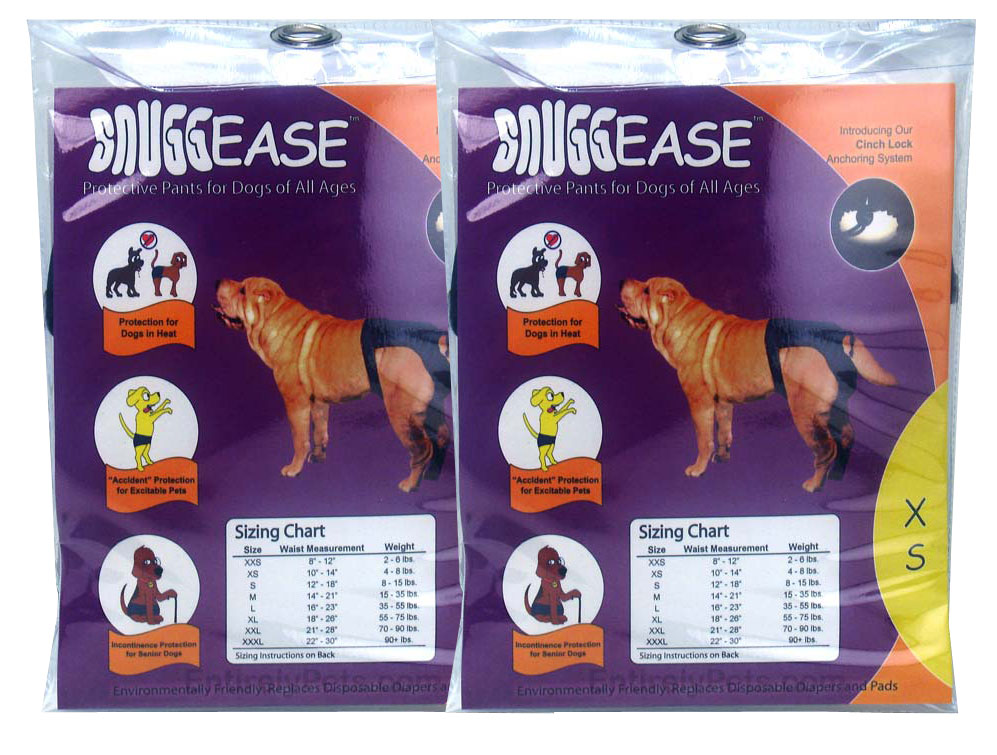 2 Pack SnuggEase Protective Pants for Dogs im test