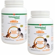 2-PACK Vetoquinol Care Triglyceride Omega Supplement - Small Breeds (500 Capsules)