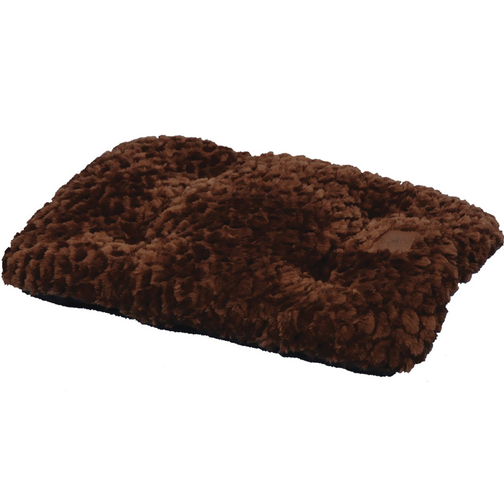 """2000 Cozy Comforter 23""""X 16"""" - Chocolate"" im test"