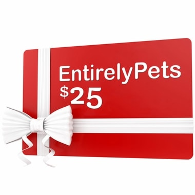 $25 Gift Certificate from EntirelyPets