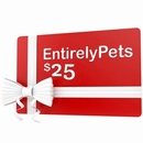 $25 EntirelyPets Gift Certificate