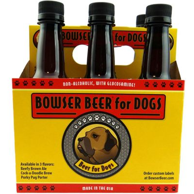 3 Busy Dogs Bowser Beer - 6 Pack Cock-a-Doodle Brew (12 oz)
