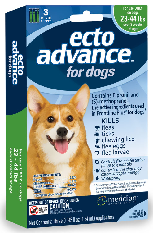 3 MONTH EctoAdvance for Dogs 23-44 lbs im test
