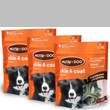 3-PACK 3M Nutri-Dog Skin And Coat Chews MEDIUM (27 ct)
