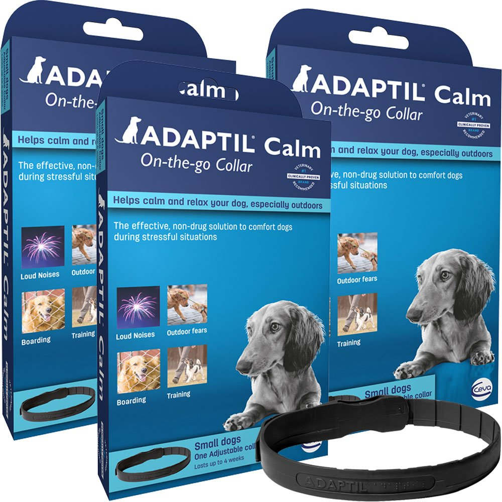 Image of 3-PACK ADAPTIL On-The-Go Collar for Dogs (Small)
