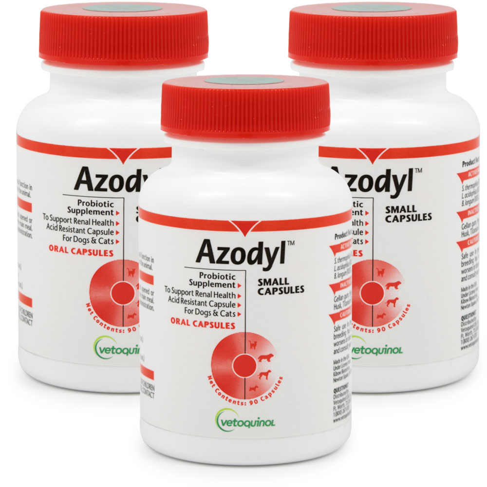3-PACK Azodyl Small Caps (270 count) im test