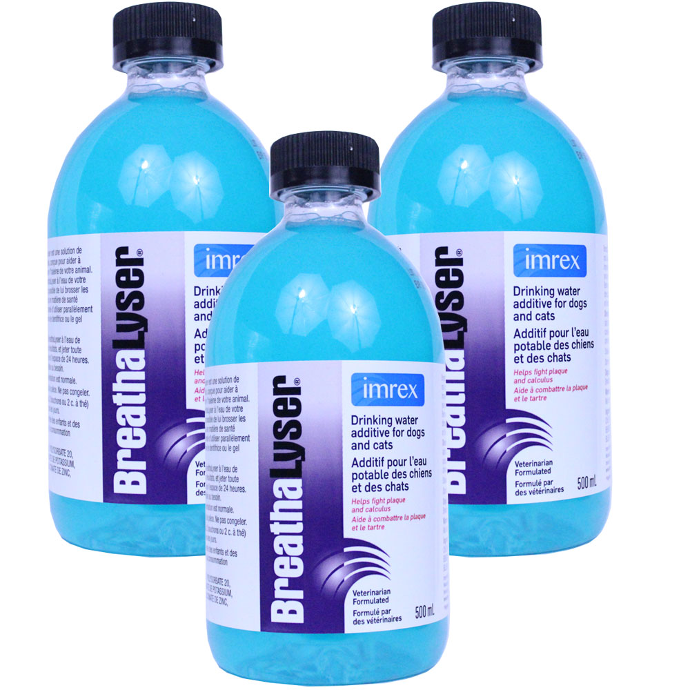 Image of 3-PACK Breathalyser Water Additive (1500 mL)