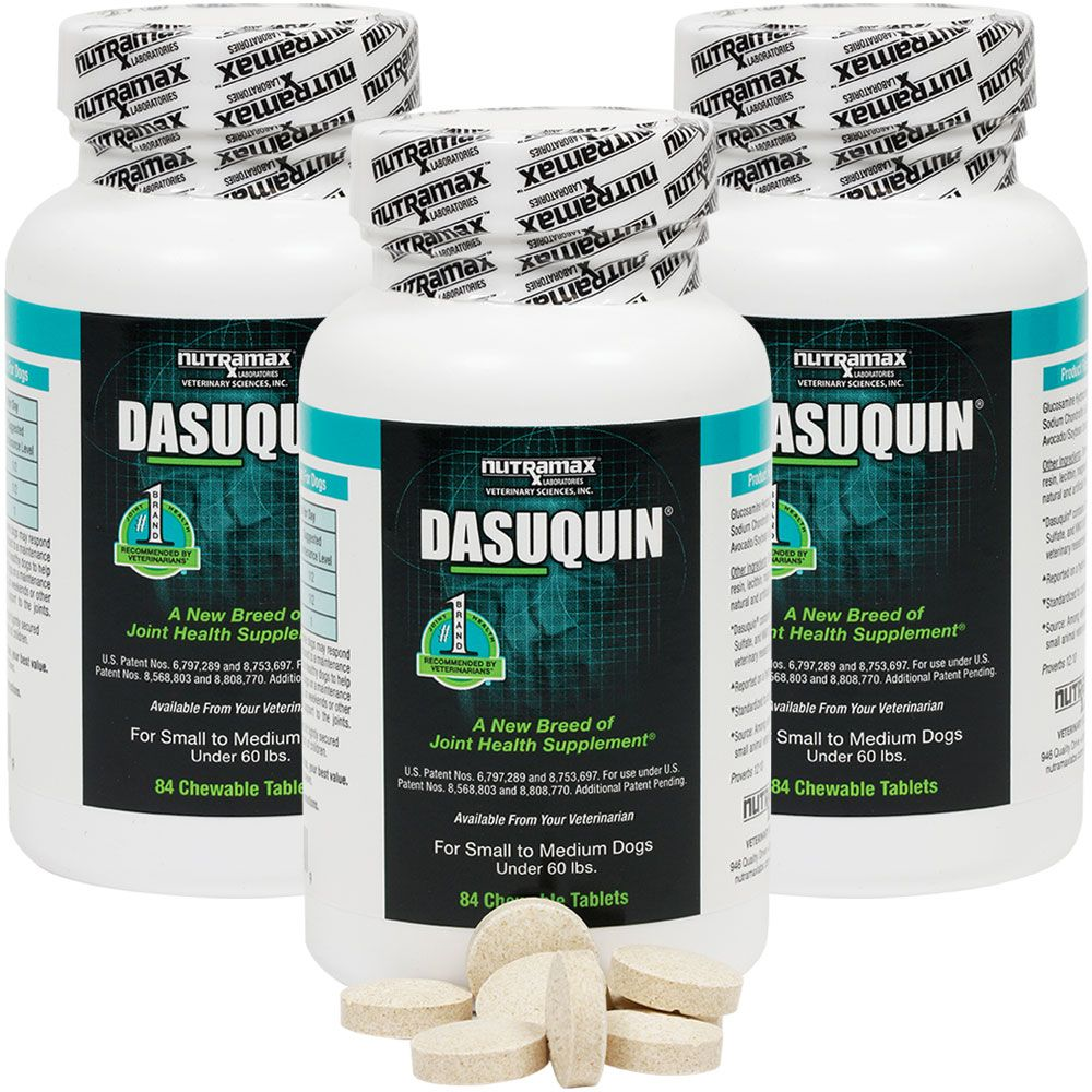 Image of 3-PACK Dasuquin for Small to Medium Dogs (252 Chewable Tabs)