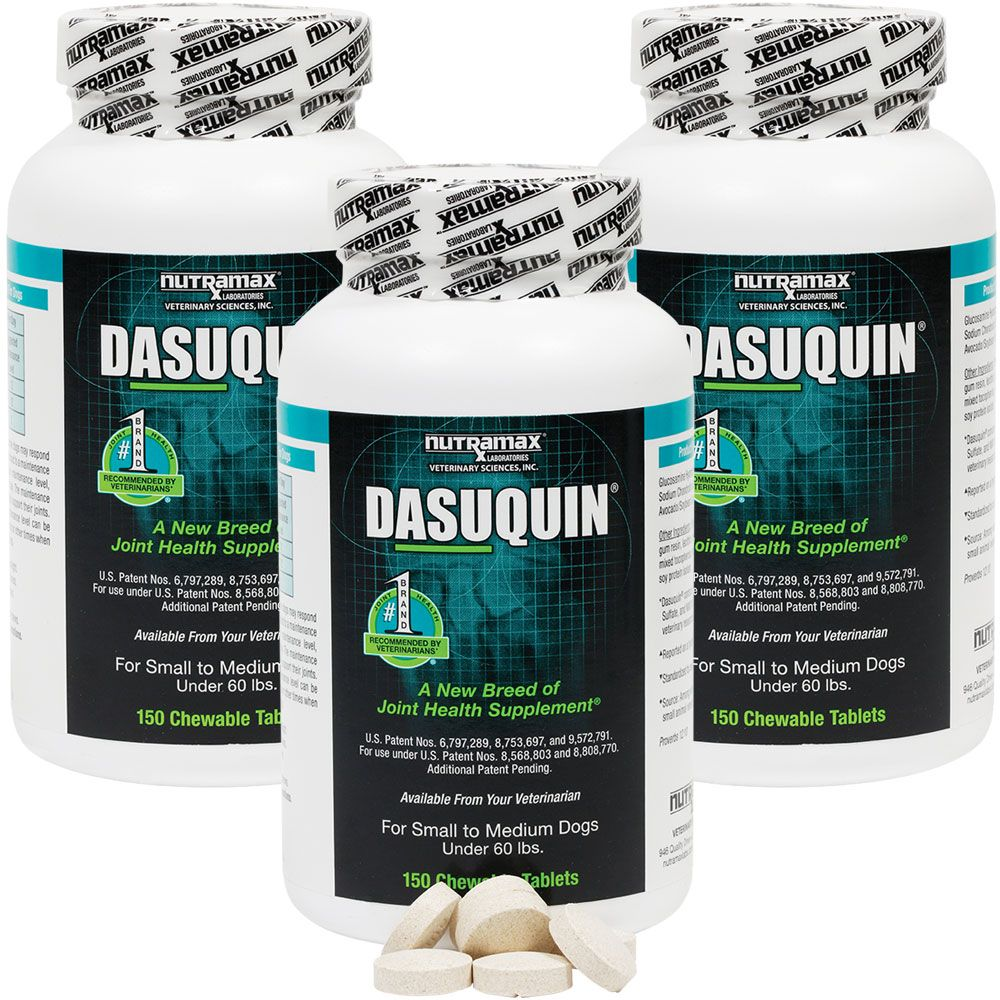 Image of 3-PACK Dasuquin for Small to Medium Dogs (450 Chewable Tabs)
