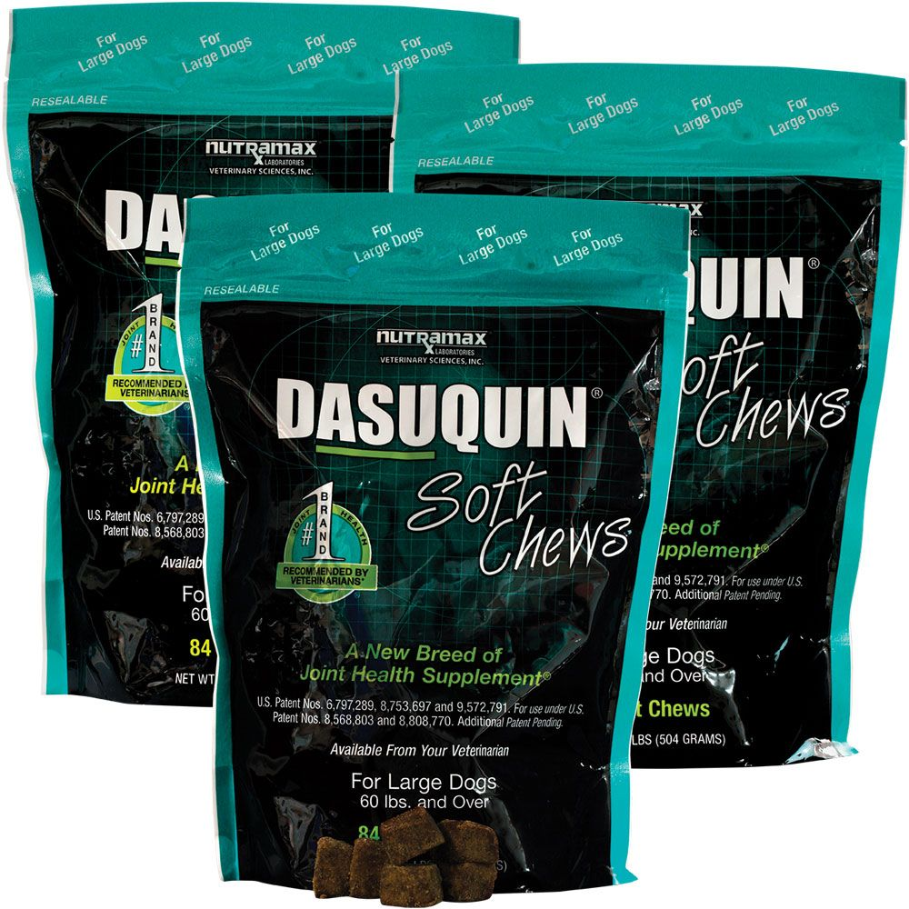 3-PACK Dasuquin Soft Chews for Large Dogs (252 Chews) im test