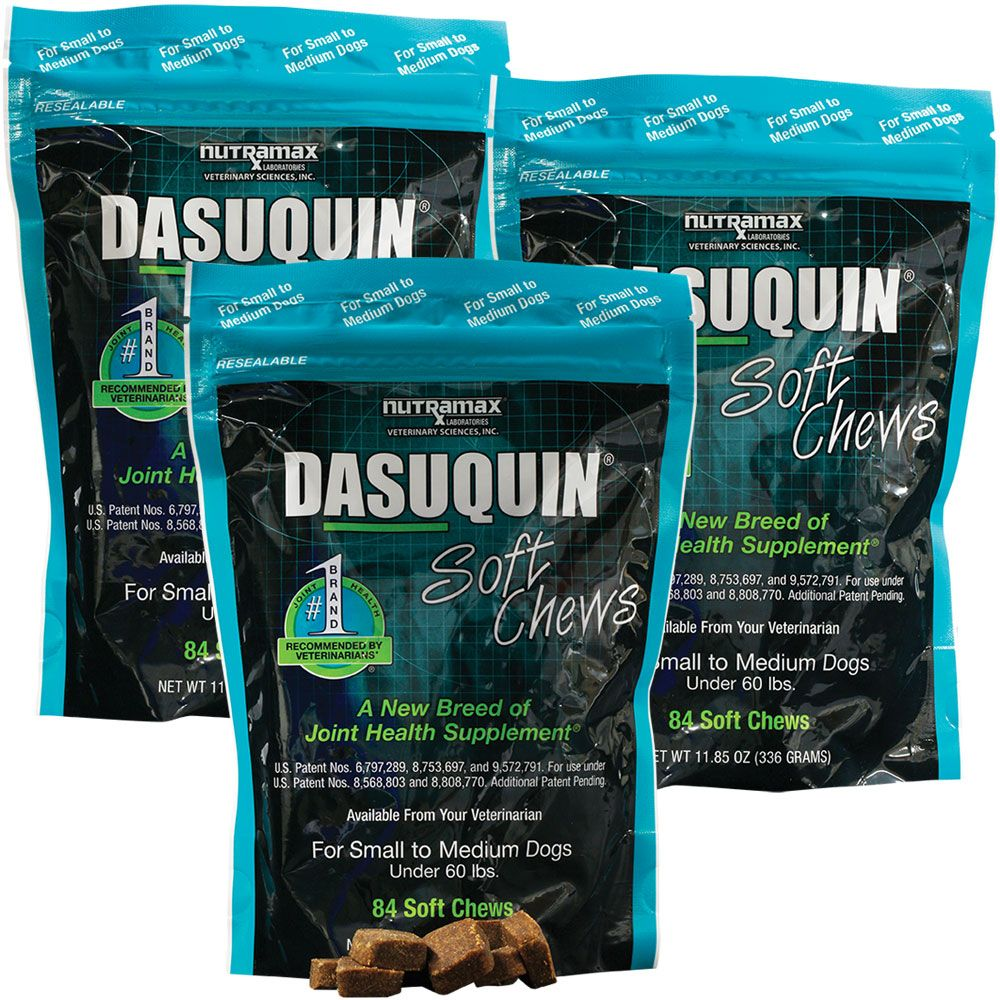 3-PACK Dasuquin Soft Chews for Small to Medium Dogs (252 Chews) im test