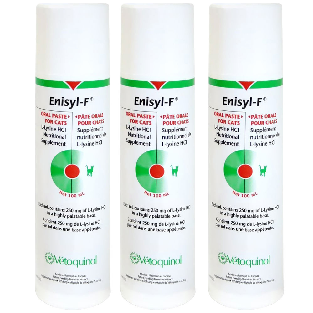 Enisyl-F Oral Paste for Cats 3-Pack - 300 mL im test