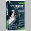 3-PACK Fiproguard Plus Flea & Tick Squeeze-On for Dogs 23-44 lbs