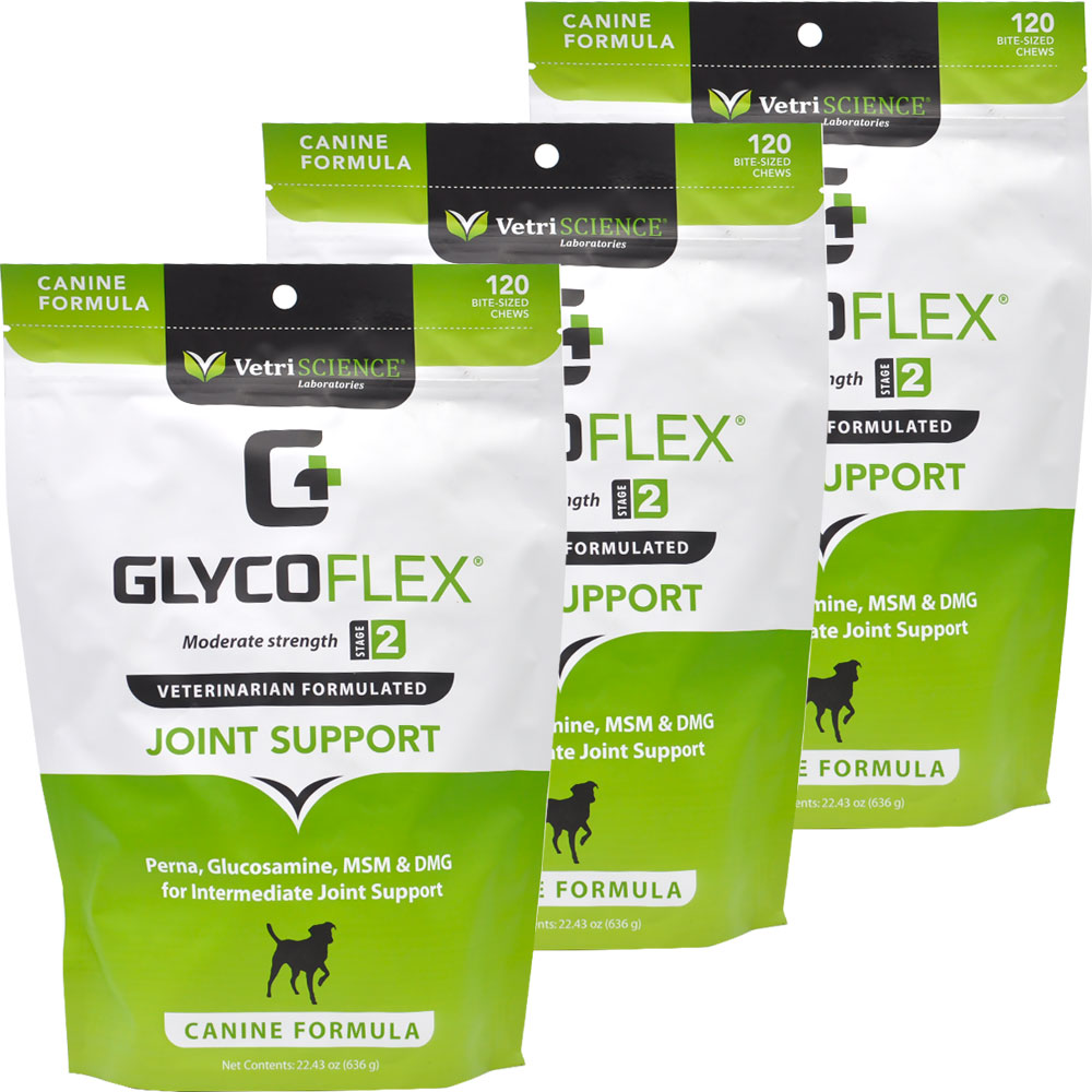 3-Pack GlycoFlex 2 - 360 Soft Chews - For Dogs - from EntirelyPets