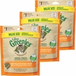 3-PACK Greenies Feline Dental Treats - Oven Roasted Chicken Flavor (16.5 oz)