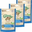 Greenies Feline Dental Treats - Tempting Tuna Flavor 3-Pack (7.5 oz)