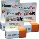 HomeoPet Skin and Itch Relief 3-PACK (45 mL)