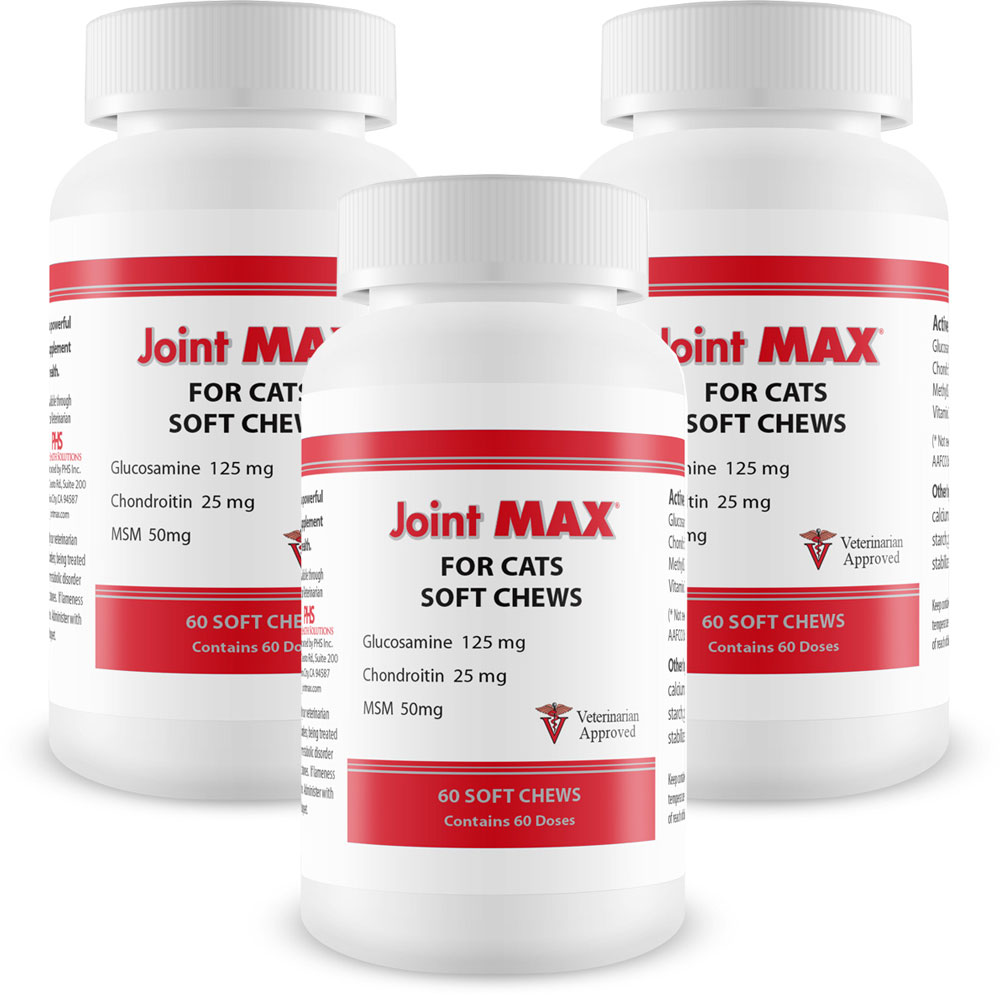 3-Pack Joint MAX Soft Chews for Cats - 180 Chews - from EntirelyPets
