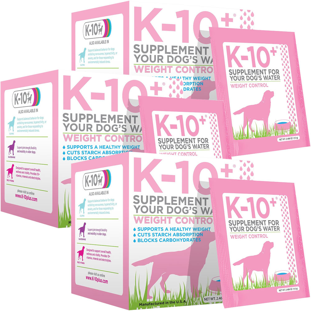 3-Pack K-10+ Weight Control - For Dogs - from EntirelyPets