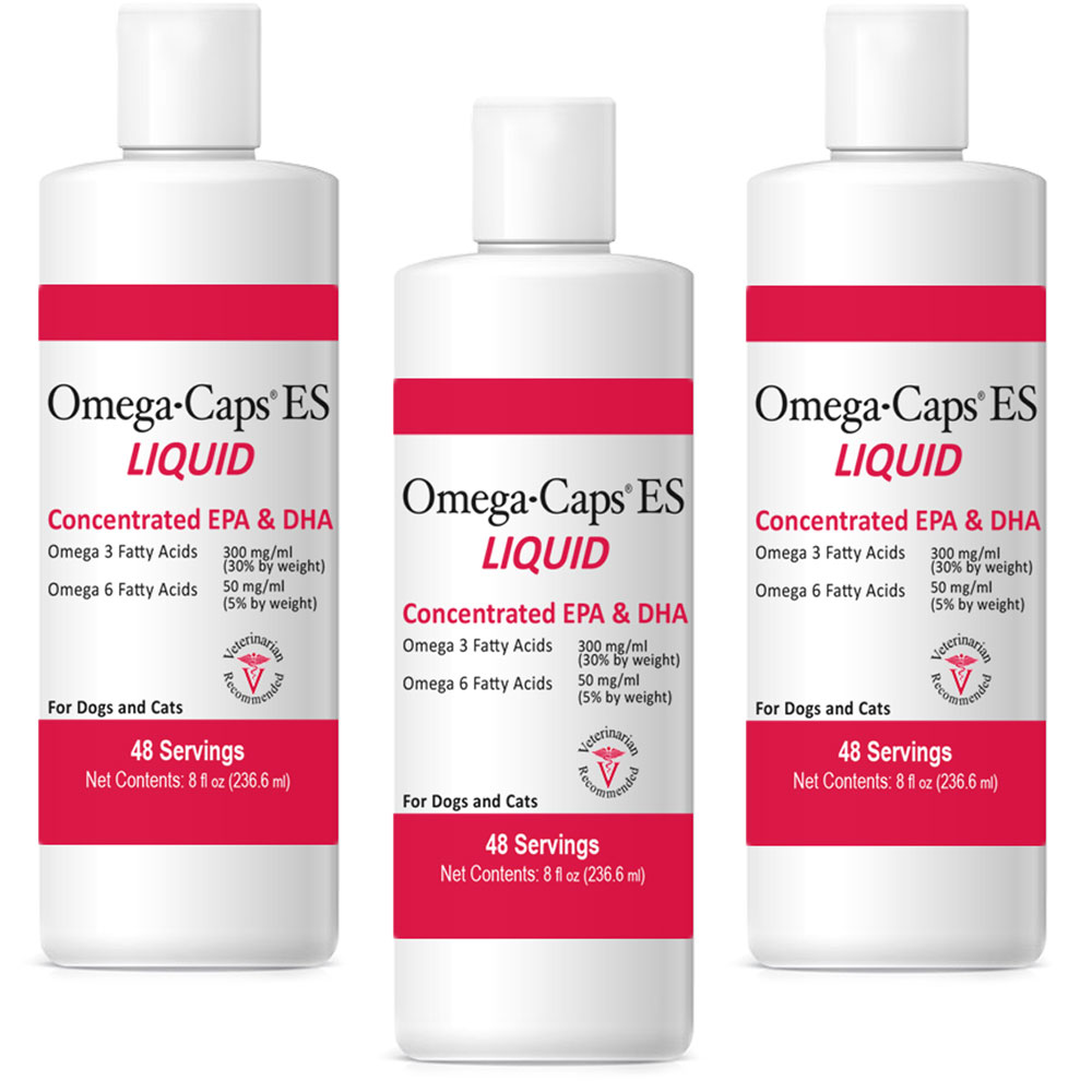 Image of 3-PACK Omega-Caps ES Liquid (24 fl oz)