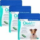 3-PACK OraVet Dental Hygiene Chews  -Small 10-24lbs (90 Count)