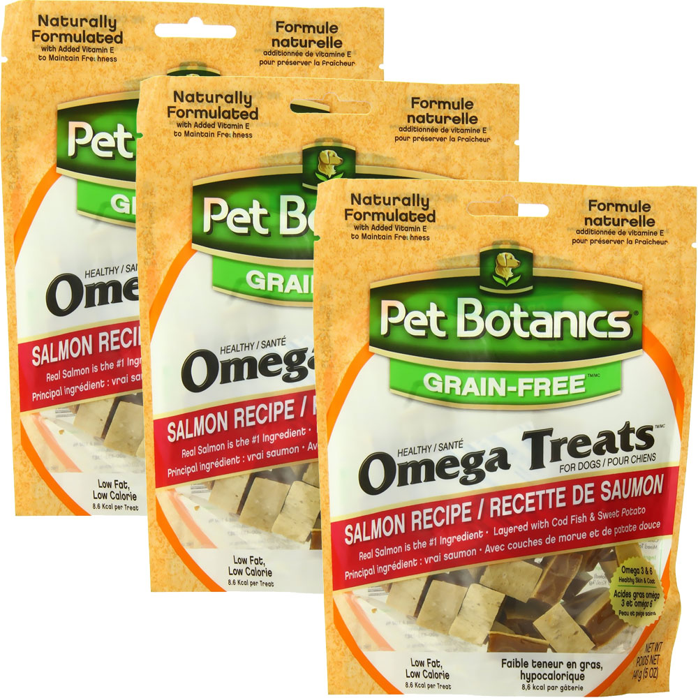 3 PACK Pet Botanics Healthy Omega Treats - Salmon (15 oz) im test
