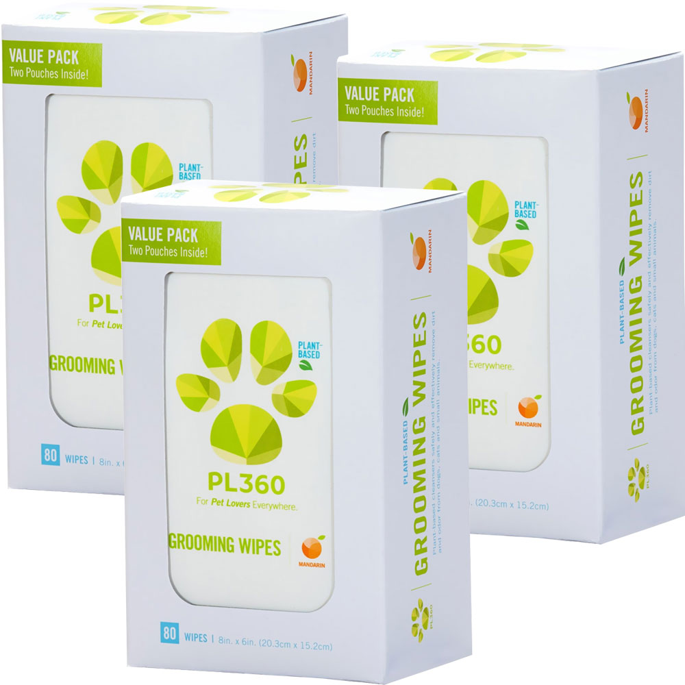 Image of 3-PACK PL360 Grooming Wipes (240 count)