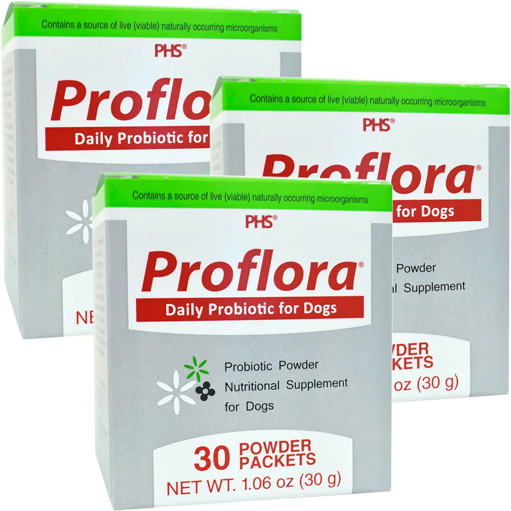 Image of 3-PACK Proflora Probiotic for Dogs (90 Servings)