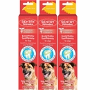 3-PACK Sentry HC Petrodex Enzymatic Toothpaste Dogs Poultry Flavor (Net. 7.5 oz)