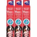 3-PACK SENTRY Petrodex Twin Power Toothpaste for Puppies - Poultry Cool Mint (7.5 oz)