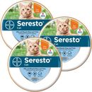 3-PACK Seresto Flea & Tick Collar for Cats