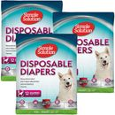 3 PACK Simple Solution Diapers XXL (36 Diapers)
