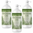 Simply Wild Salmon Oil 3-PACK (96 fl oz)