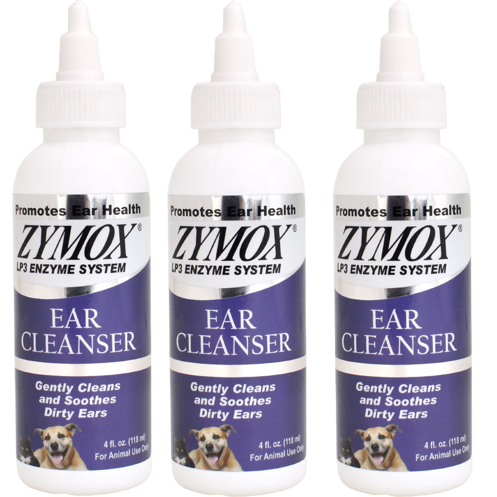 Image of 3-PACK Zymox Ear Cleanser (12 oz)