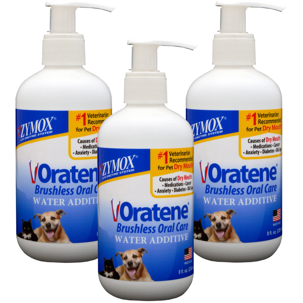 3-PACK Zymox Oratene Drinking Water Additives (24 oz) im test