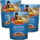 Zuke's Hip Action with added Glucosamine and Chondroitin 3 Packs - PEANUT BUTTER (18 oz)