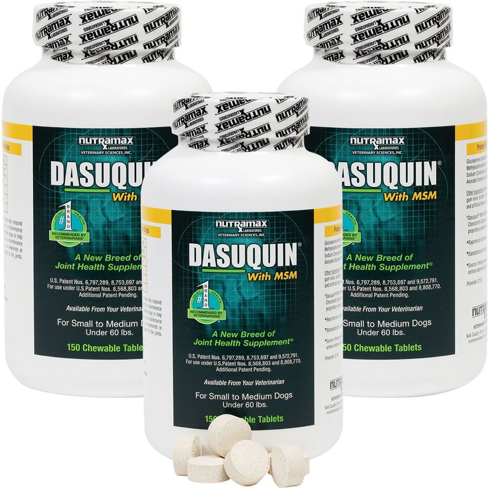 3-PACK Dasuquin for Small/Medium Dogs under 60 lbs. with MSM (450 Chewable Tabs) im test