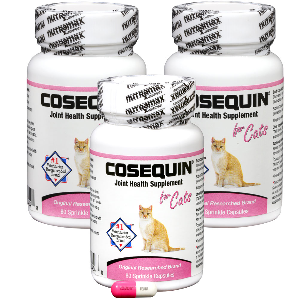 Cosequin for Cats 80 Count 3-Pack Sprinkle Capsules (240 counts) im test