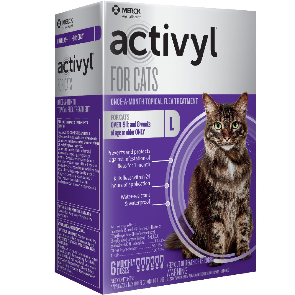 6 MONTH Activyl Spot-On for Cats (over 9 lbs) im test