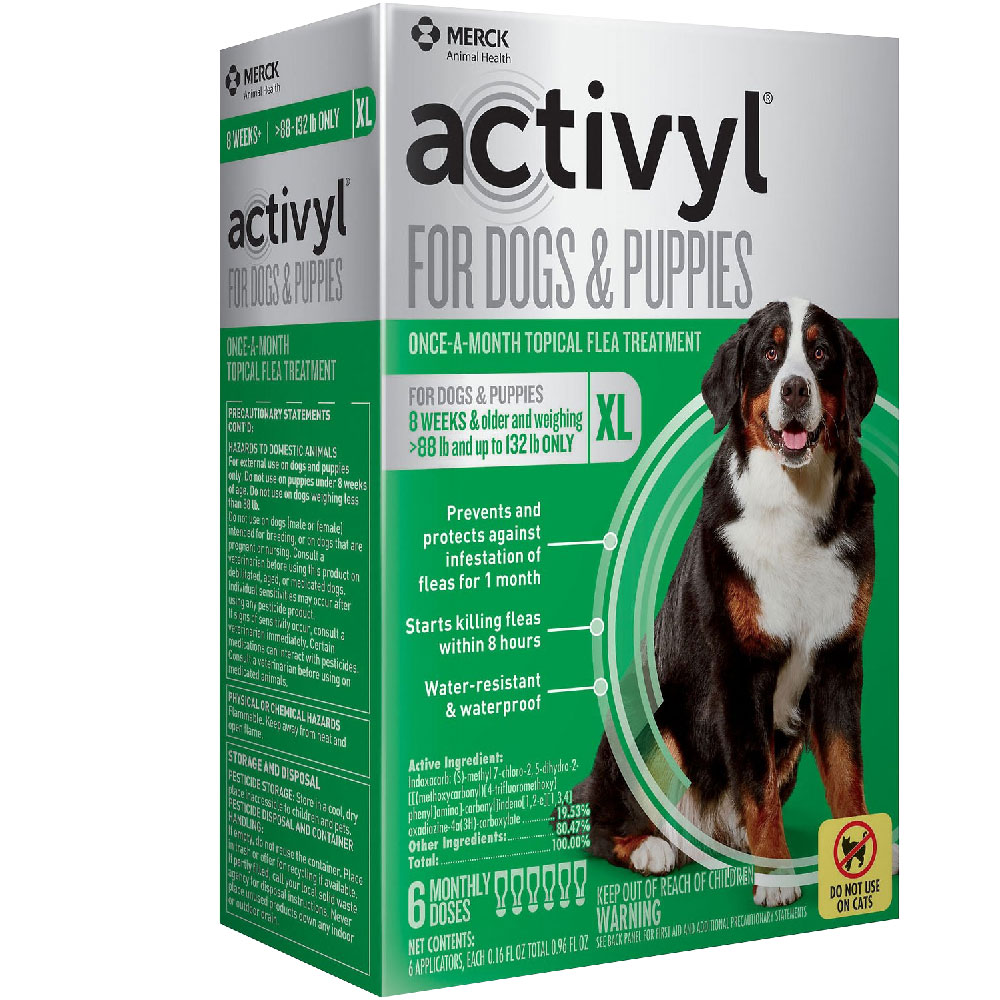 6 MONTH Activyl Spot-On for Extra Large Dogs & Puppies (88-132 lbs) im test